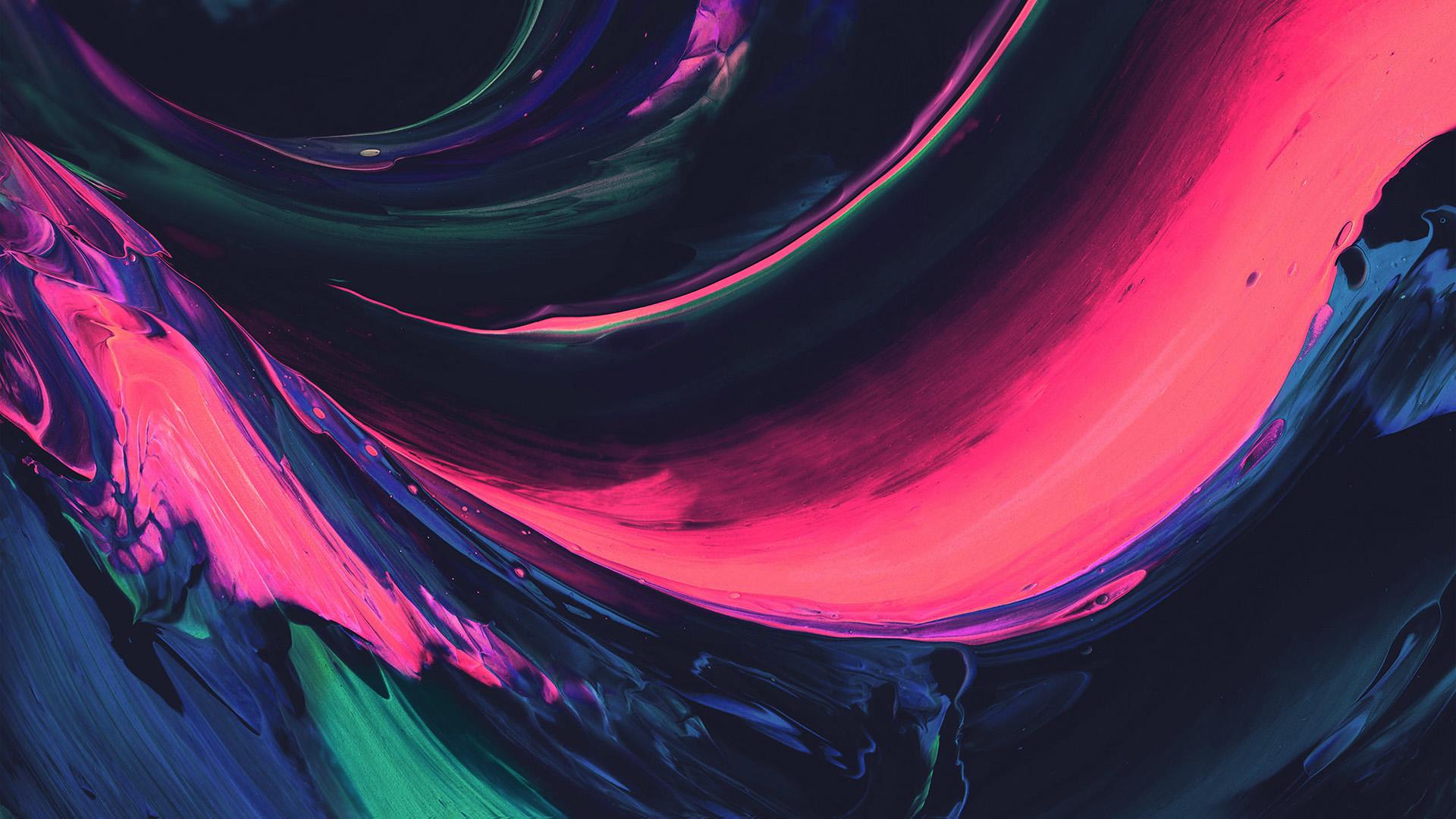 Blue Paint Cute Wallpaper Vs32 Htc Abstract Art Paint Pattern Pink Wallpaper