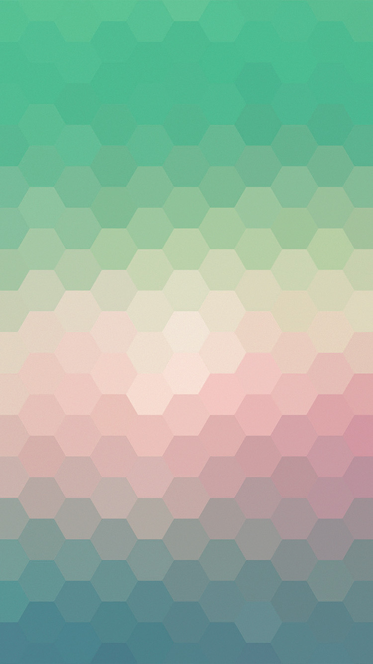 Android Phone Car Wallpapers Vx40 Hexagon Green Red Pattern Background Wallpaper