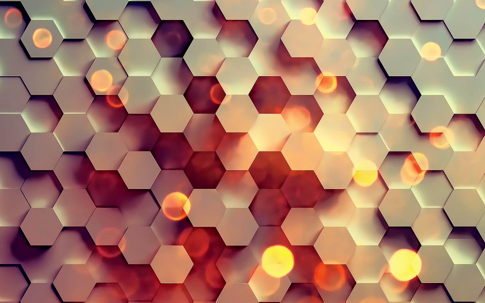 Free Fall Disney Wallpaper Vy40 Honey Hexagon Digital Abstract Pattern Background