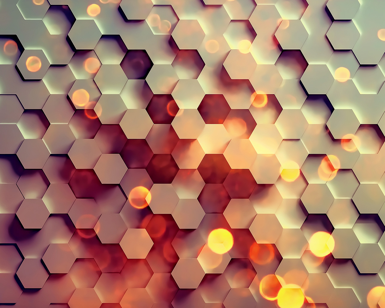 Simple Fall Hd Wallpaper Vy40 Honey Hexagon Digital Abstract Pattern Background