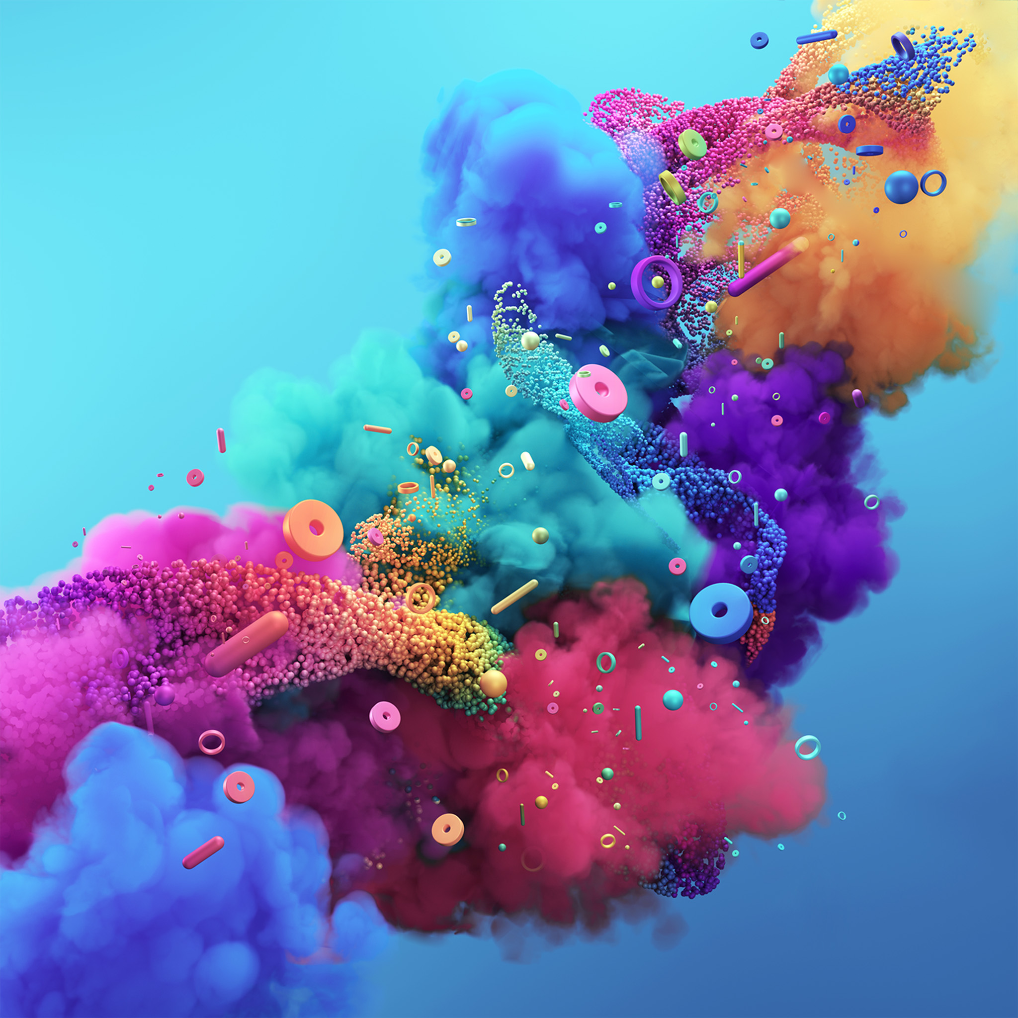 Best Car Lock Screen Wallpaper Vz04 Digital Art Color Rainbow Pattern Background Wallpaper