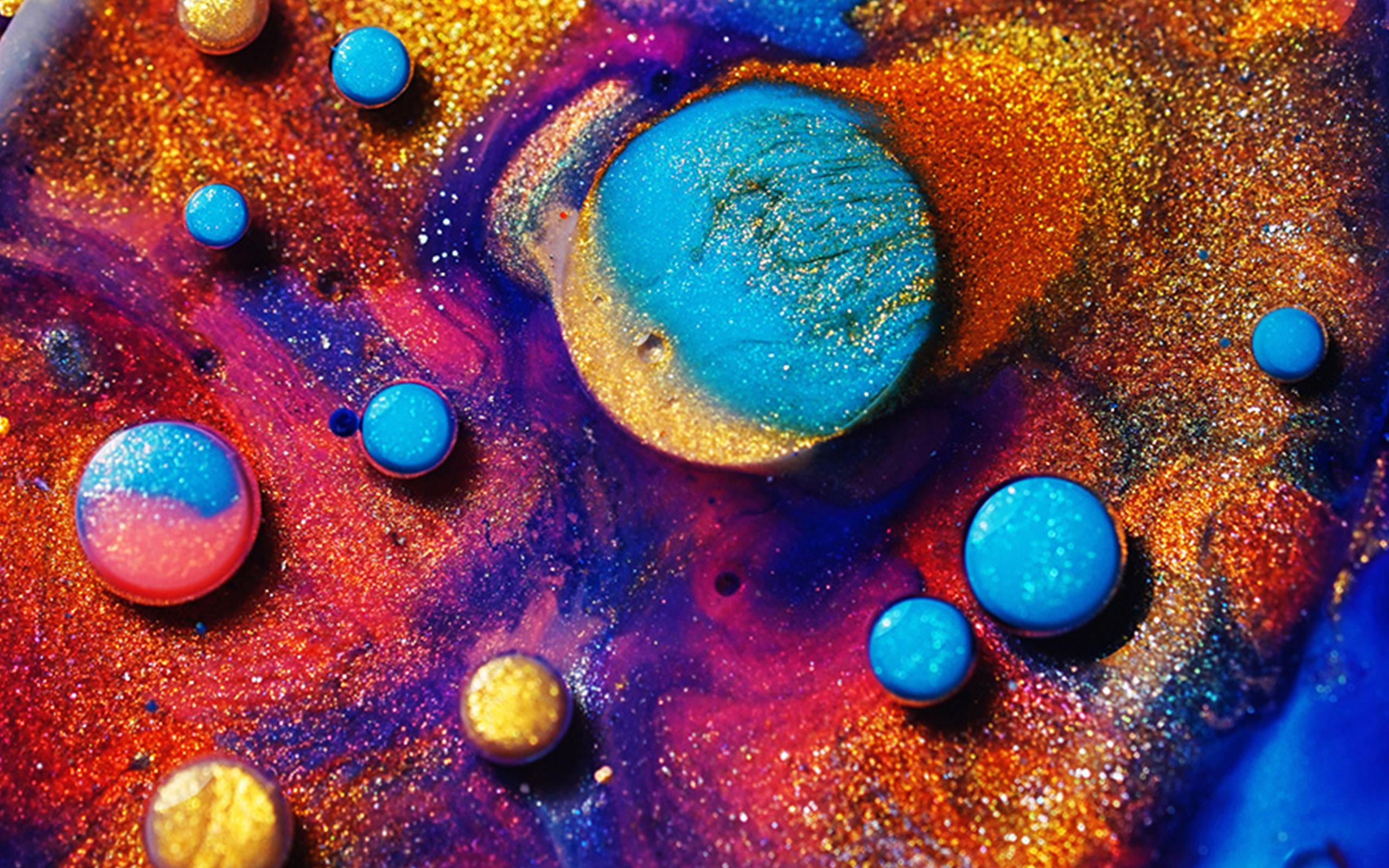 Cute Colour Wallpaper Vz15 Makeup Color Art Pattern Background Wallpaper