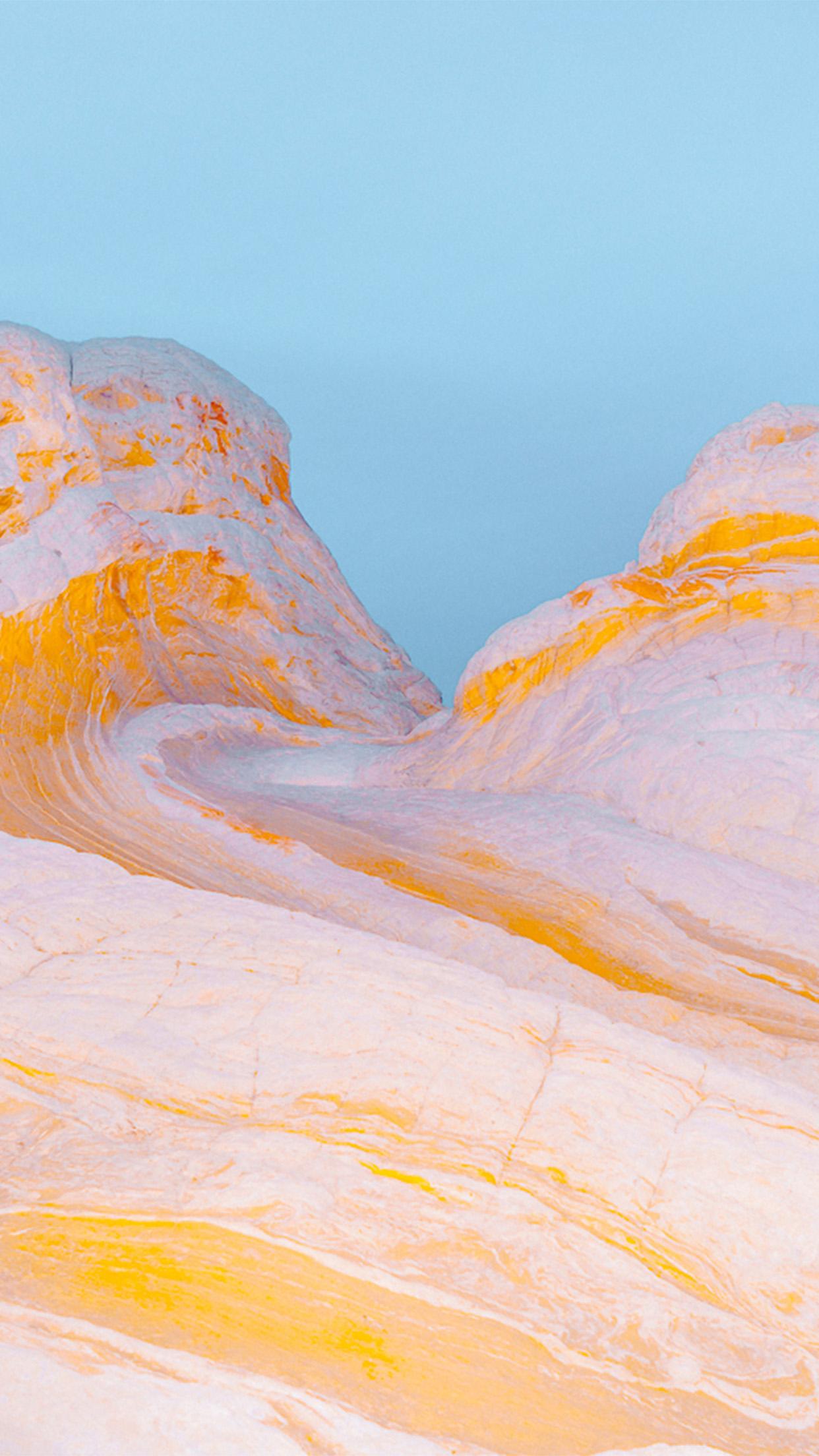 Cute Hd Wallpapers For Phone Vz29 Mountain Yellow Weird Pattern Background Wallpaper