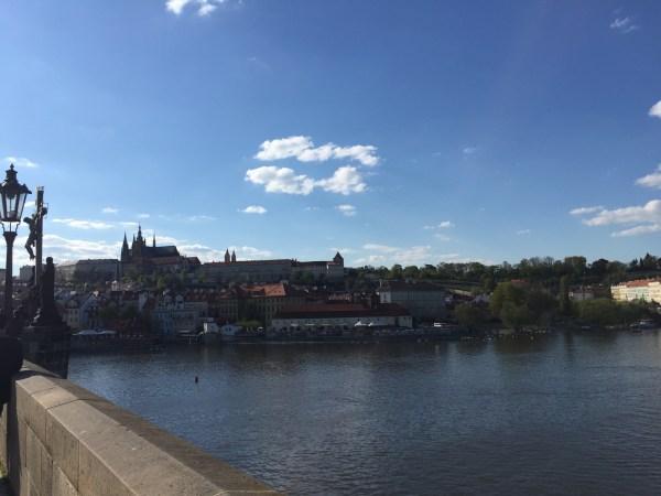 Prague view Charles Bridge