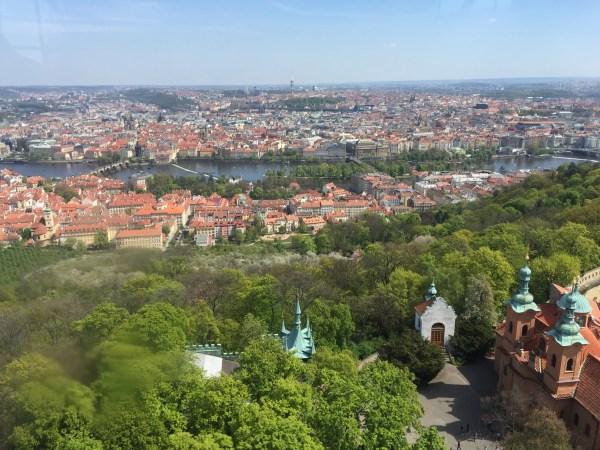 Petrin Observation Tower Prague Czech Republic
