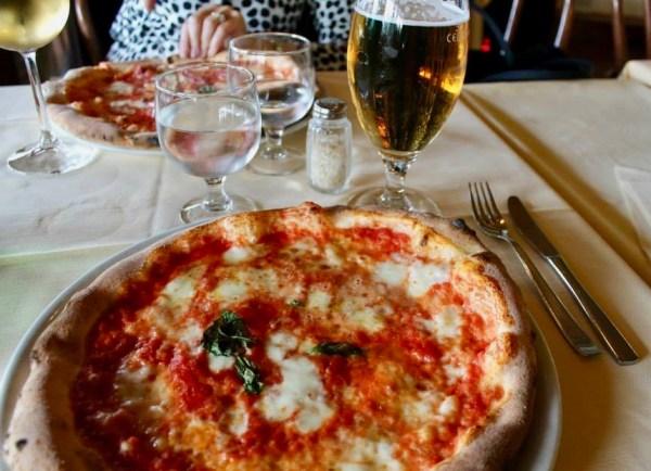 Anacapri Italy pizza