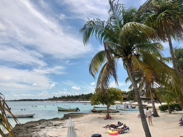 Akumal Mexico beach