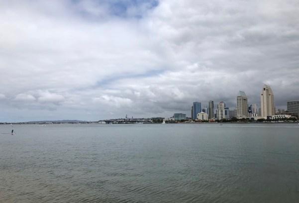 Downtown San Diego view