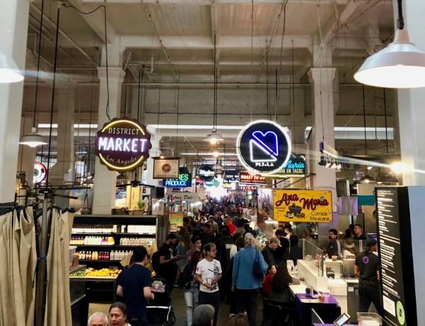 Grand Central Market Downtown LA