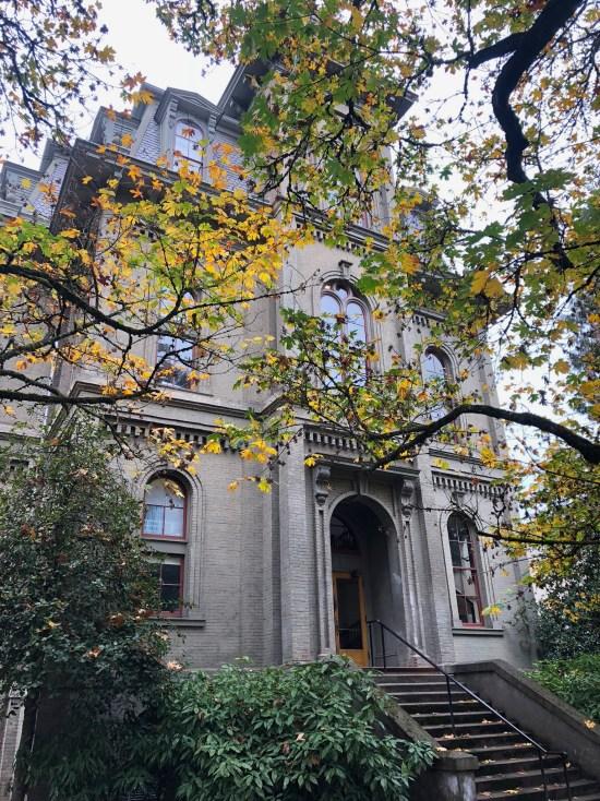 Deady Hall University of Oregon