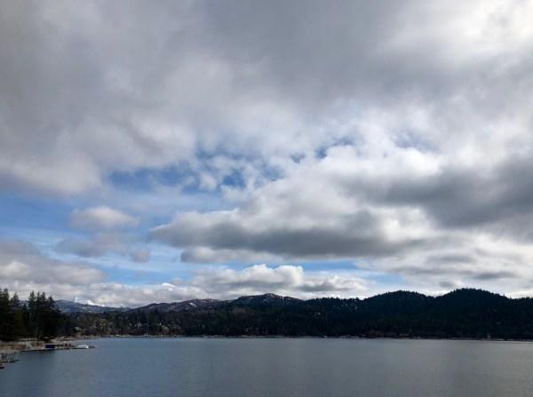 Lake Arrowhead California winter