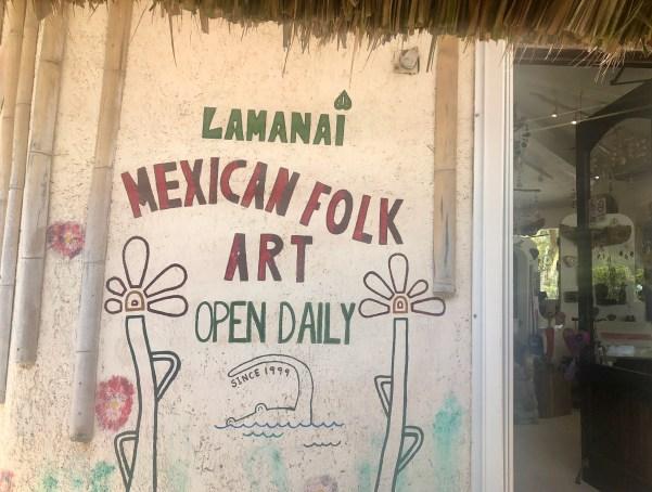 Lamanai Mexican Folk Art Akumal