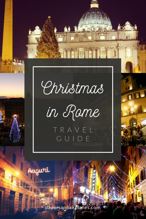 Travel Guide: Christmas in Rome, Italy