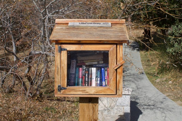 Little Free Library, Lake Arrowhead, California