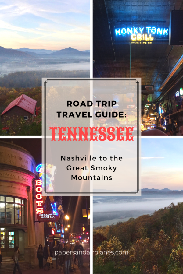 Tennessee Road Trip travel Guide