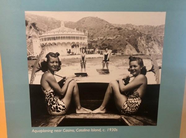 Catalina Casino photo, 1930s, Catalina Island Museum