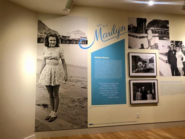 Marilyn Monroe display, Catalina Island Museum