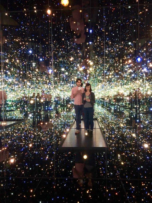 Yayoi Kusama, Infinity Mirrored Room The Souls of a Millions of Light Years Away