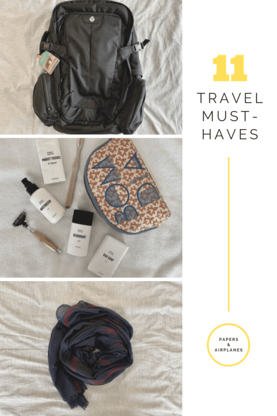 11 Travel Must-Haves