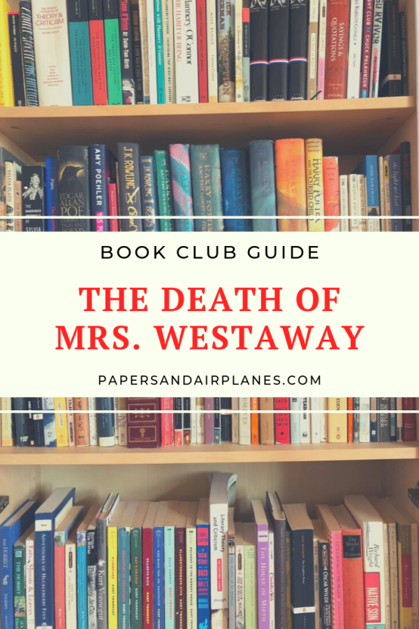 Book Club Guide, The Death of Mrs Westaway