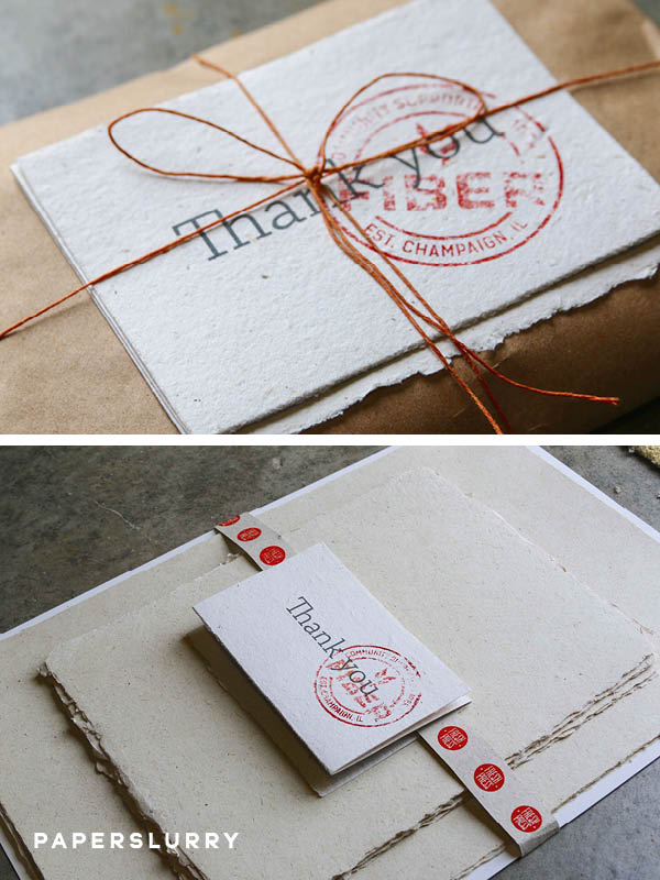 Fibers by Fresh Press, hand made papers
