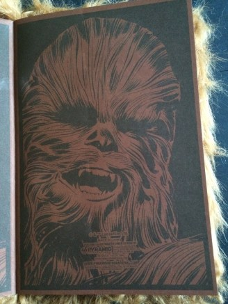 Chewbacca notebook endpapers small