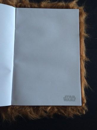 Chewbacca notebook paper small