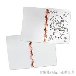 永新行線圈著色筆記本內頁