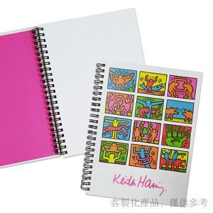 筆記本客製化-藝術家所有作品封面及內頁