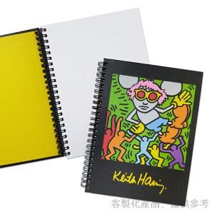 筆記本客製化-藝術家作品封面及內頁