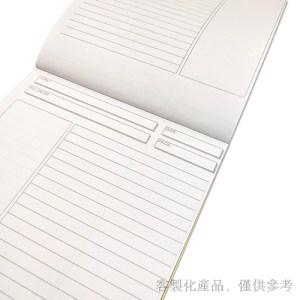 客製化燙金邊筆記本