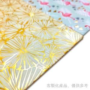蝶古巴特,客製化拼貼裝飾藝術燙金紙