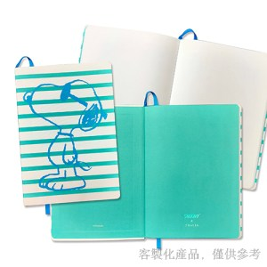 軟式布料精裝筆記本-客製化,2