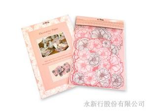 裝飾卡粉色派對商品-桌面裝飾卡,1