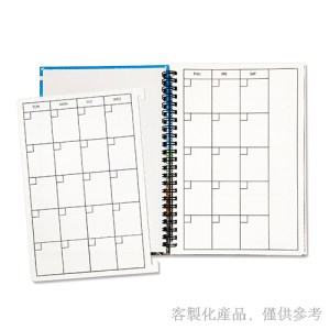 客製化精裝線圈手帳日誌本-筆記本,2