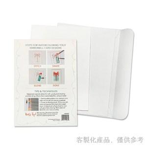 客製化DIY水彩紙卡片信封組 -卡片,2