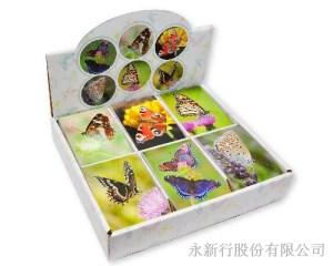 動物便條紙蝴蝶-便條紙_M-14435,1