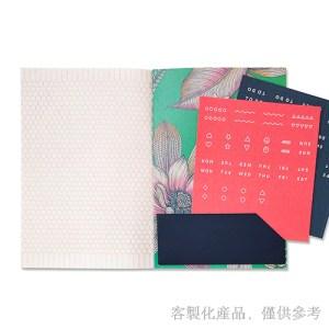 客製化縫線膠裝口袋筆記本,3