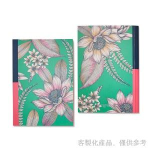 客製化縫線膠裝口袋筆記本,2