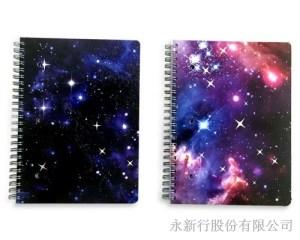 星空系列小線圈筆記本-筆記本_78-20WN,2