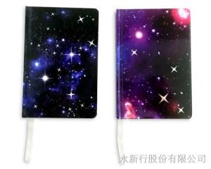 星空系列小精裝圓角筆記本-筆記本_78-50N,1