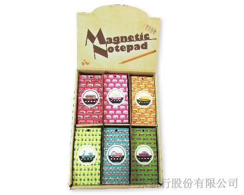 磁鐵便條本(車子)便條紙-便條紙_MP-4806