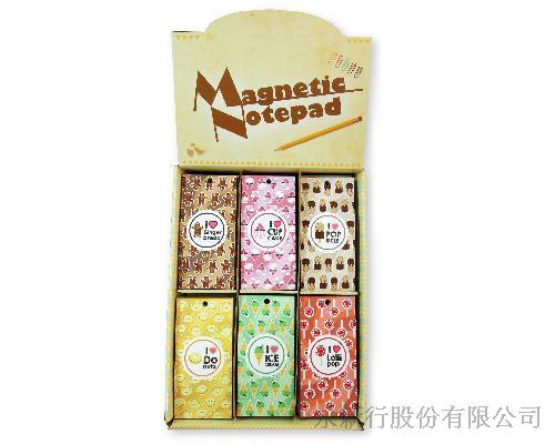 磁鐵便條紙_甜點