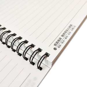 Customized Stone Paper Wire-O Bound-Notebook-6