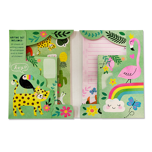 客製化樹懶信紙信封組-信紙信封