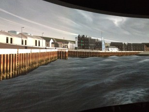 Michael Mulvihill, Simulation of Kirkwall Harbour Orkeny at South Shields Marine School