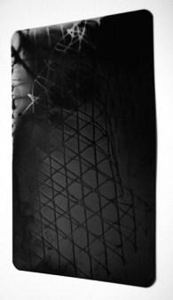 Graham Patterson 'Debris', X-ray film contact print, 2014, 15x23cm