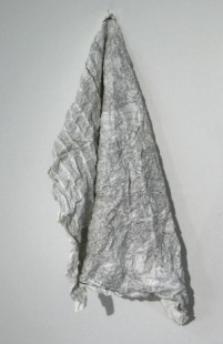 Clare Money 'Fabric', paper, 75x50cm, 2013