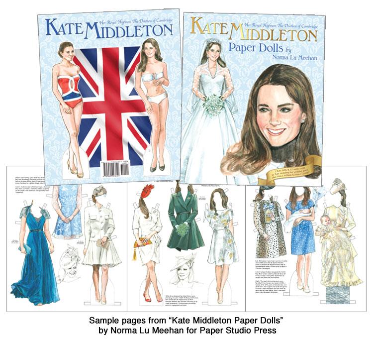 Kate Middleton Paper Dolls Kate Middletons Fashions