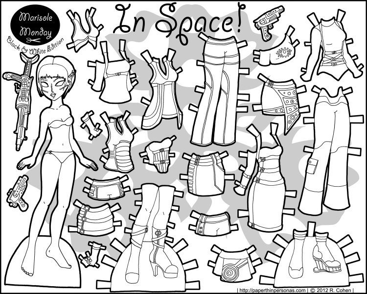 Marisole Monday: In Space! • Paper Thin Personas